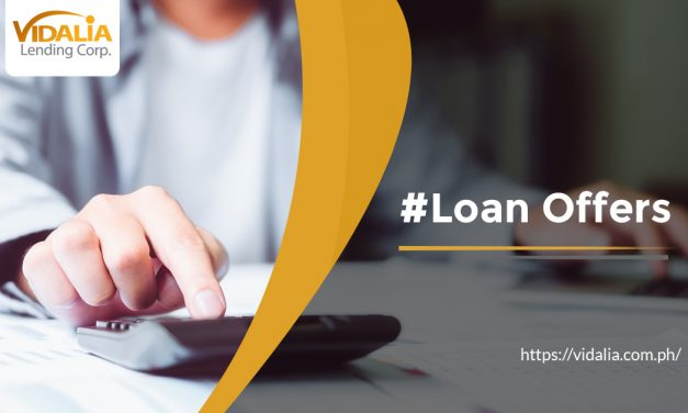 Different Loan Offers for Different Cash Needs